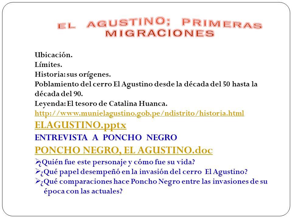 Migración, clases, causas, consecuencias http://www.monografias.com/trabajos55/migraciones-en- peru/migraciones-en-peru2.shtml http://www.monografias.com/trabajos55/migraciones-en- peru/migraciones-en-peru2.shtml MIGRACIÓN http://cies.org.pe/files/ES/Bol58/03-rios-rueda2.pdf OBTENIDO A TRAVÉS DE ESTA DIRECCIÓN Web http://www.cies.org.pe/economia-y-sociedad/58/migracion VIOLENCIA Y DESPLAZAMIENTO DE POBLACIÓN PRODUCCIÓN DE COCA Y MIGRACIONES http://www.iiap.org.pe/publicaciones/cds/zee-tocache/cap4_42.html POBLACIÓN PERUANA: DISTRIBUCIÓN IRREGULAR Y MIGRACIONES http://gfrojas.blogspot.com/2007/02/poblacion-peruana-distribucin-irregular.html LA MIGRACIÓN EN EL PERÚ: VIDEO http://www.tu.tv/videos/migracion-en-el-peru LA MIGRACIÓN INTERNA Y EXTERNA EN PERÚ: VIDEO http://www.tu.tv/videos/nueva-migracion-interna-y-externa-1_1