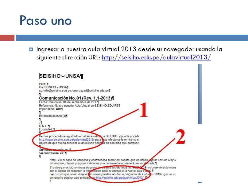 Paso 2 En la barra de navegación derecha de la página ingrese su usuario y contraseña y presione el botón de Entrar o presione la tecla Enter.