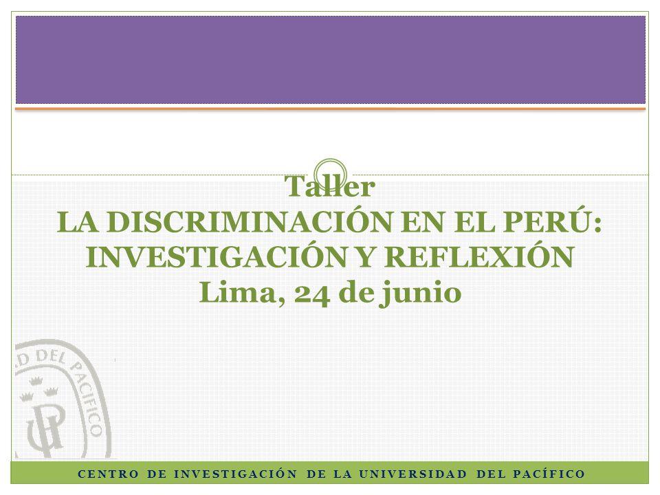 Niñez indígena y educación intercultural bilingüe en el Perú: Estadísticas al 2007, preguntas (i)resueltas y tareas pendientes Enrique Vásquez, Annie Chumpitaz y César Jara