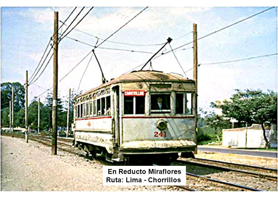 En Reducto Miraflores Ruta: Lima - Chorrillos
