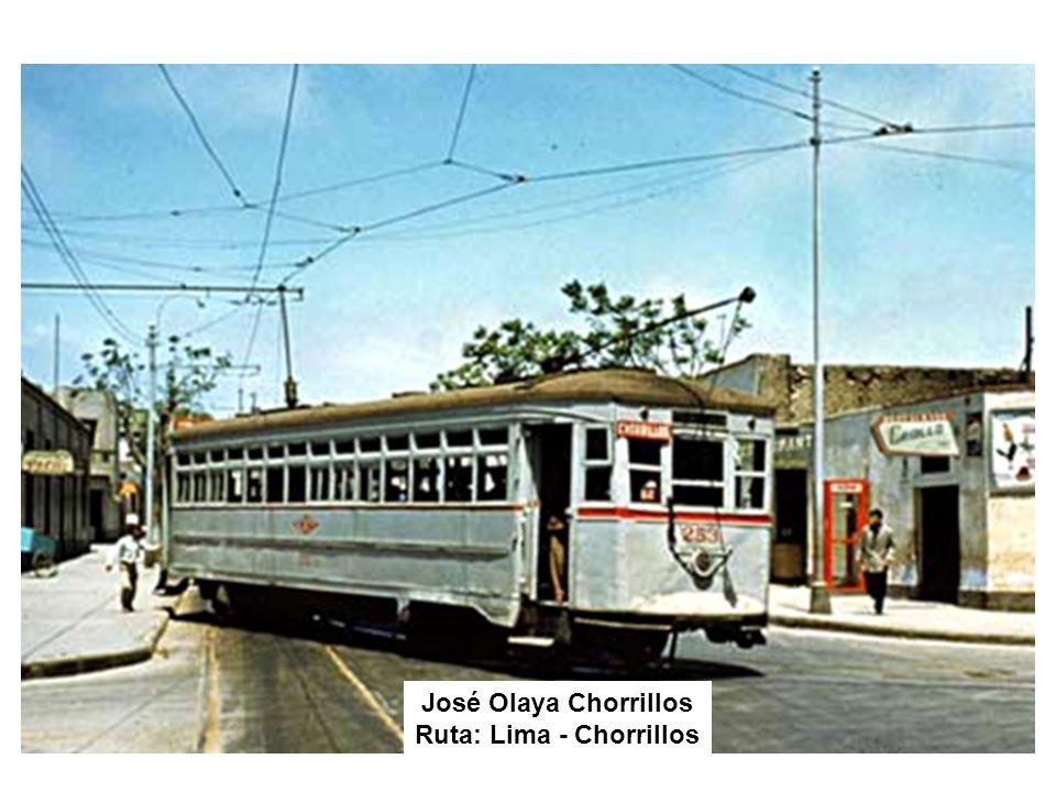 José Olaya Chorrillos Ruta: Lima - Chorrillos