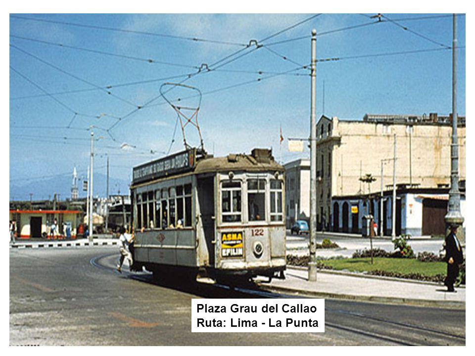 Entrando a la Plaza 2 de Mayo Ruta: La Punta - Lima