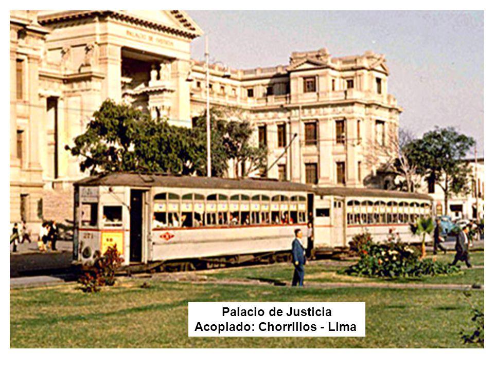 Palacio de Justicia Acoplado: Chorrillos - Lima