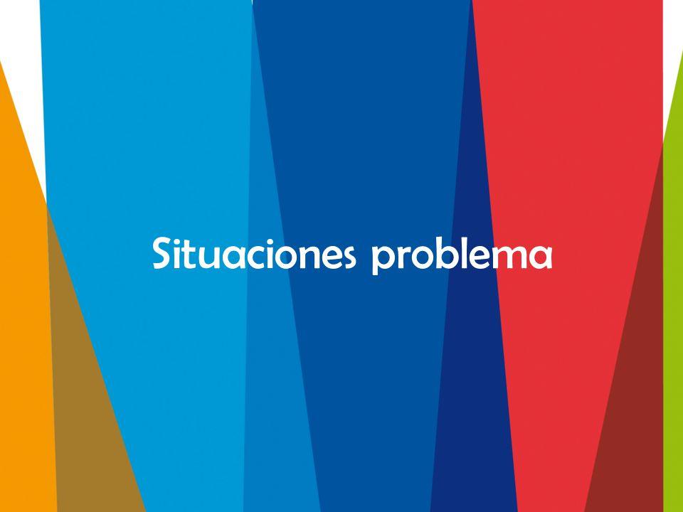 Situaciones problema