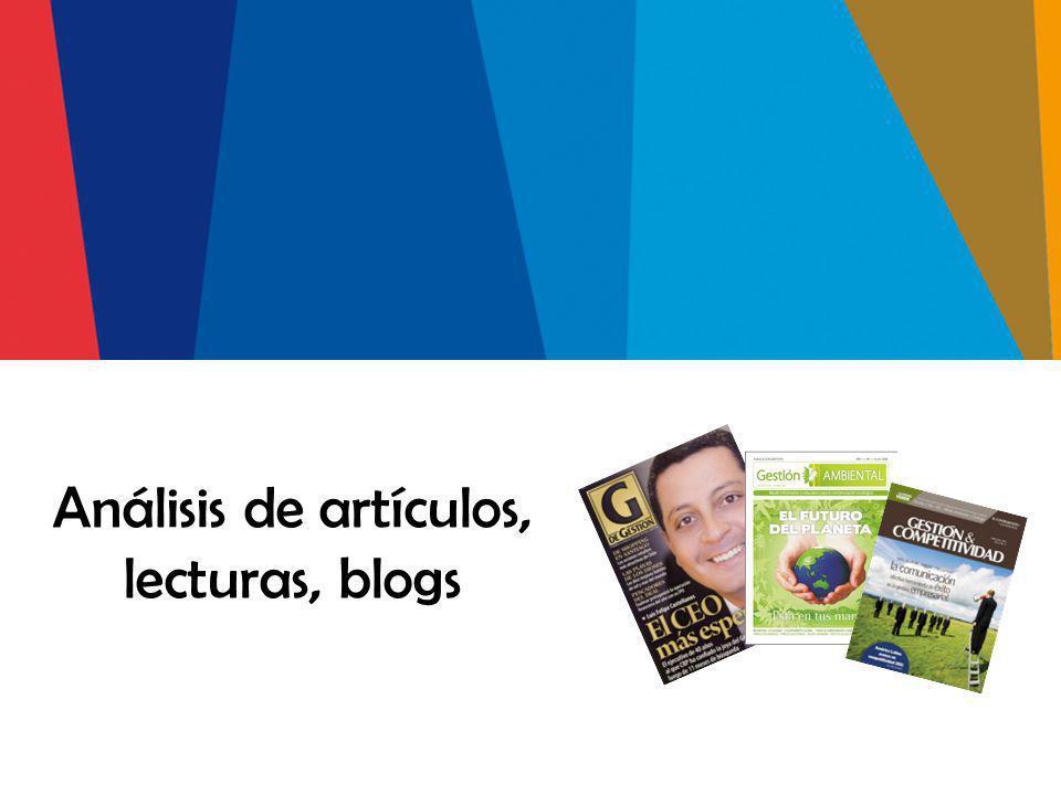 Objetivos Evaluar la comprensión de conceptos y el análisis de ideas planteadas por otros autores.