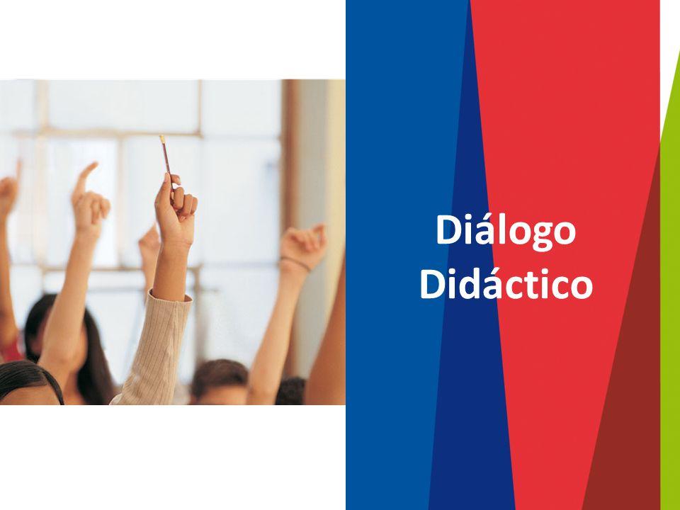¿De qué trata el diálogo didáctico.