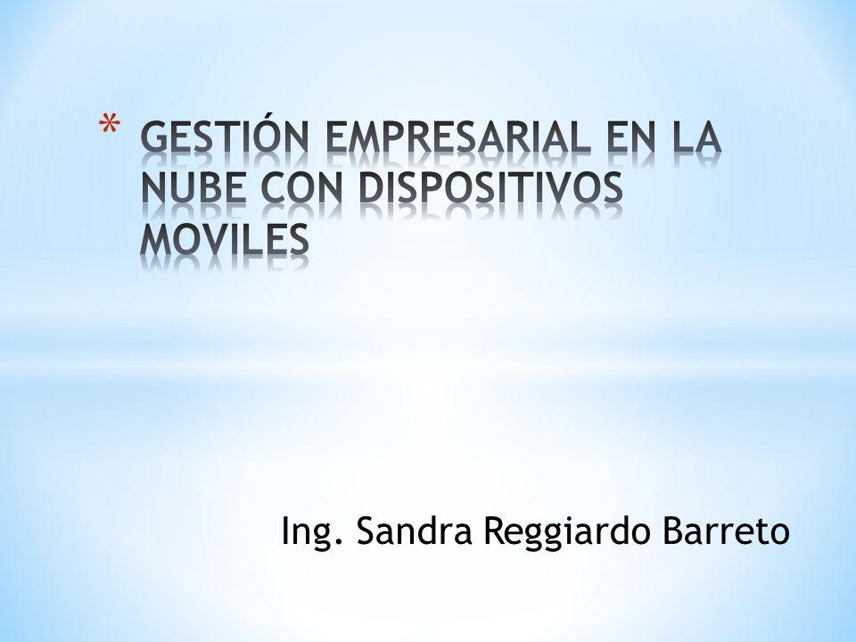 Ing. Sandra Reggiardo Barreto