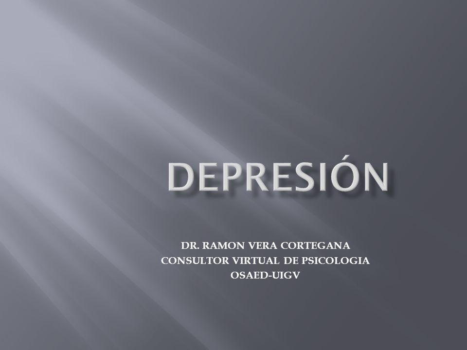 DR. RAMON VERA CORTEGANA CONSULTOR VIRTUAL DE PSICOLOGIA OSAED-UIGV