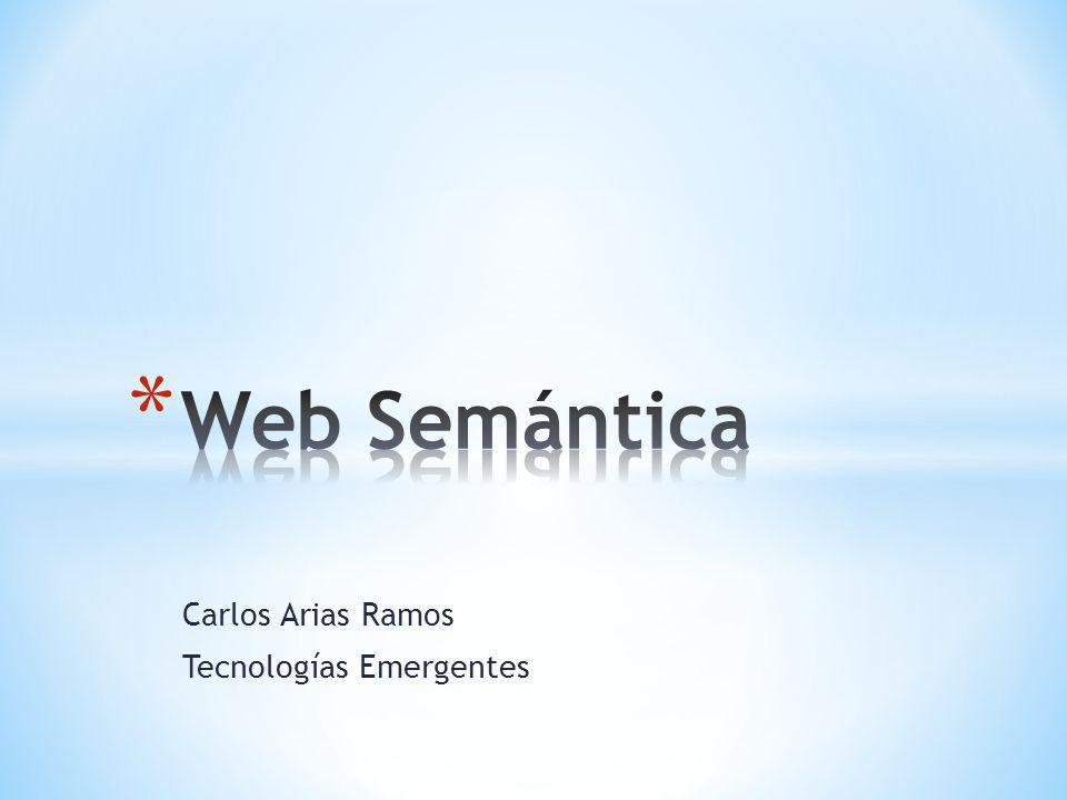 Carlos Arias Ramos Tecnologías Emergentes
