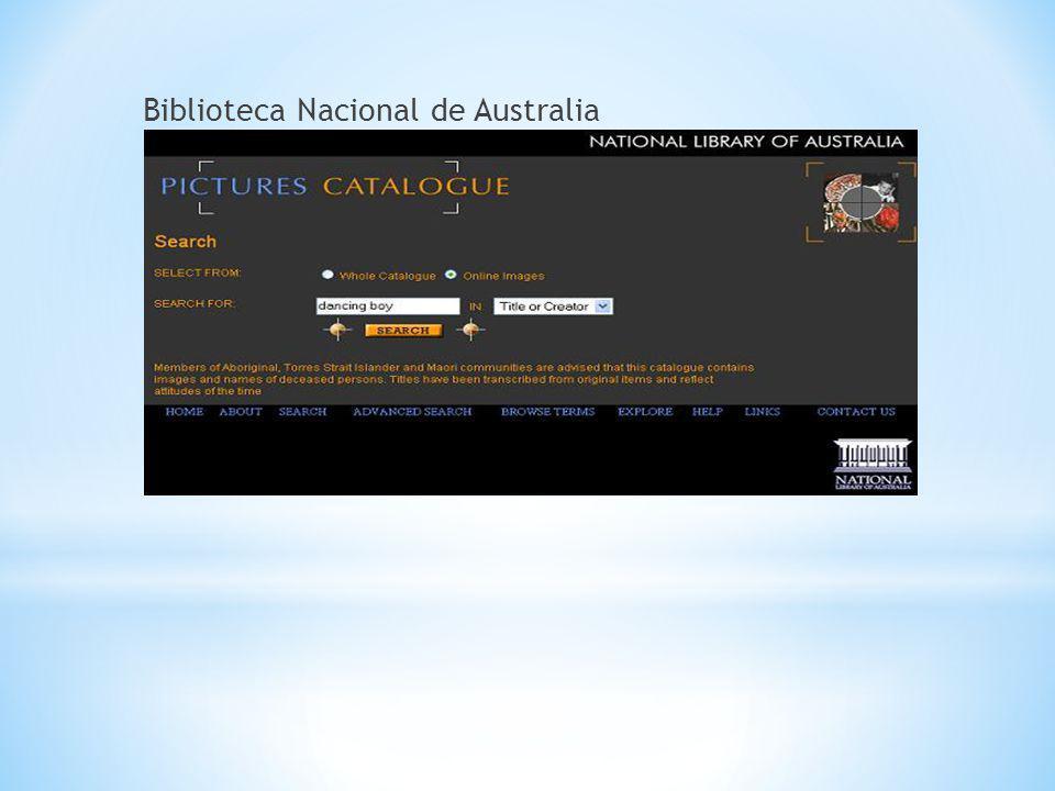 Biblioteca Nacional de Australia