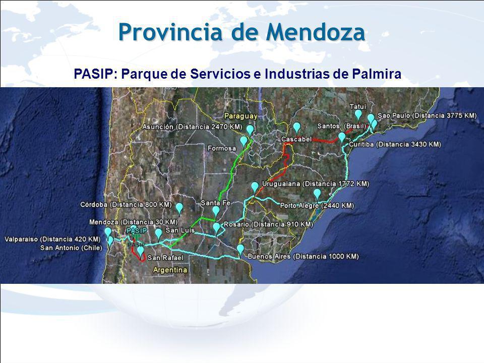 Imágenes PASIP: Parque de Servicios e Industrias de Palmira Provincia de Mendoza