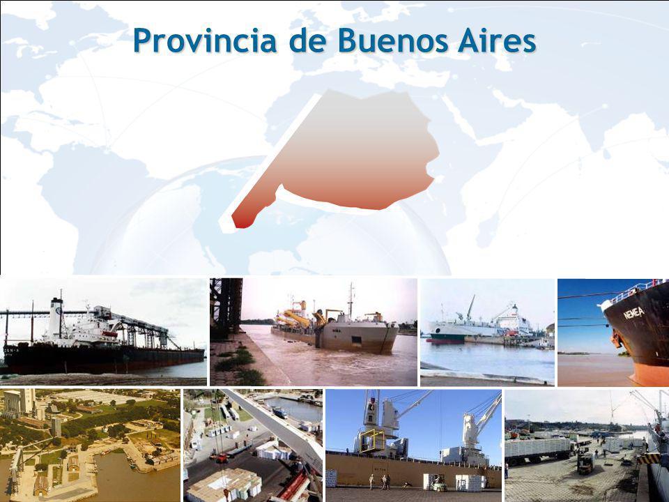 PUERTO DE SAN PEDRO Hidrovía Paraná-Paraguay, El puerto se encuentra situado en la Hidrovía Paraná-Paraguay, a 170kms.de Buenos Aires, con inmejorable acceso a mercados regionales e internacionales.