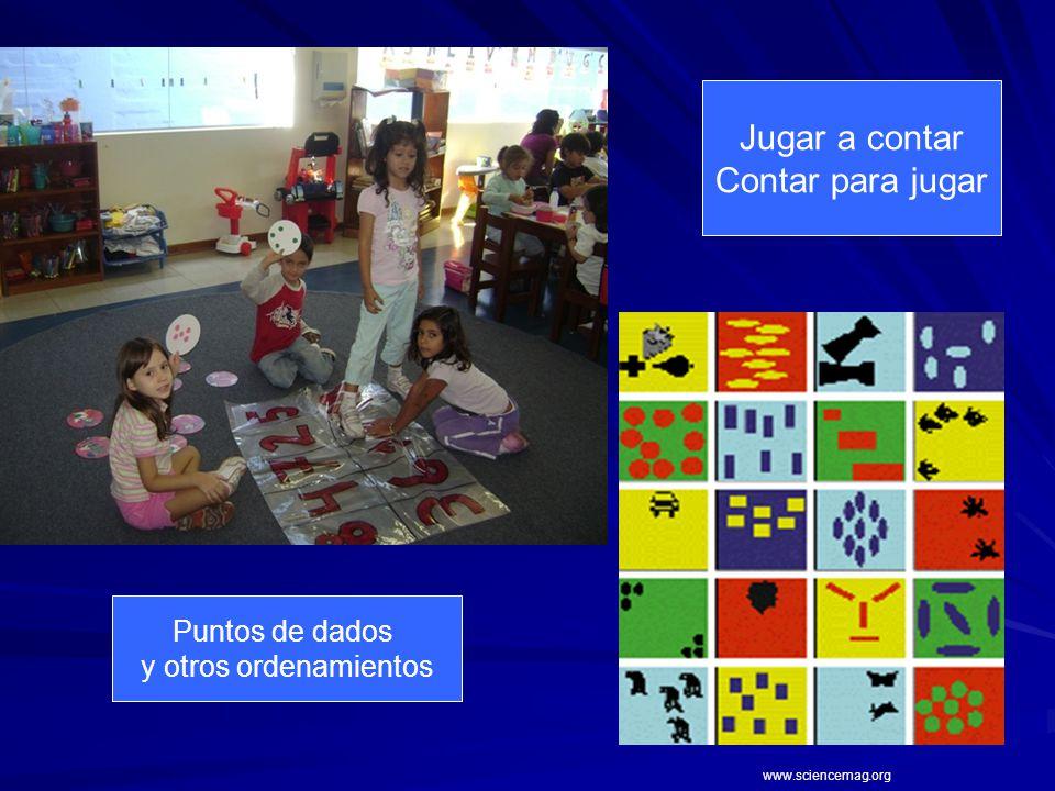 Jugar a contar Contar para jugar Puntos de dados y otros ordenamientos www.sciencemag.org