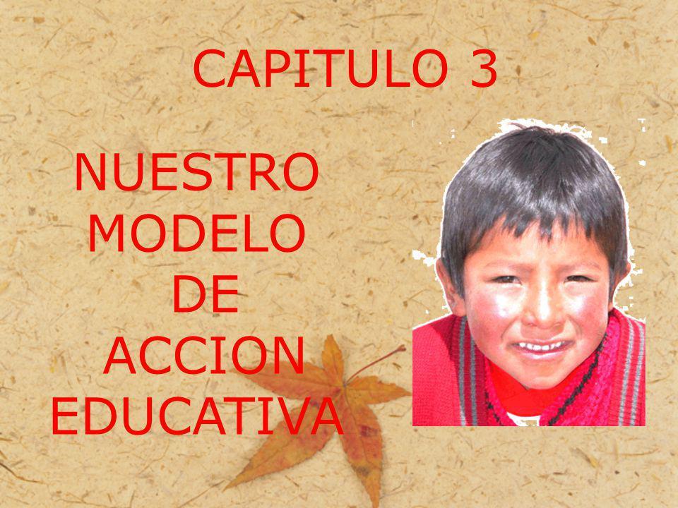 CAPITULO 3 NUESTRO MODELO DE ACCION EDUCATIVA