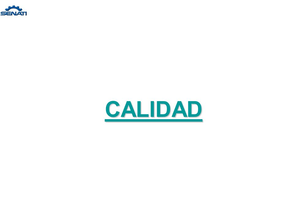 INTRODUCCIÓN A LA CALIDAD TOTAL 2 Unidad 1