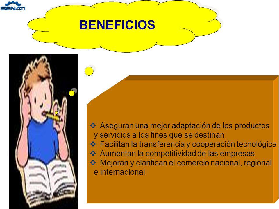 OBJETIVOS DE LA NORMALIZACIÓN : - Simplificación - Unificación y - Especificación