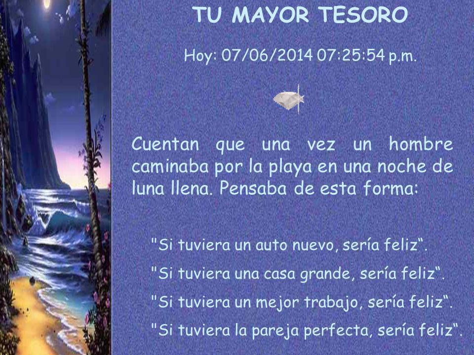 Hoy: 07/06/2014 07:27:27 p.m.