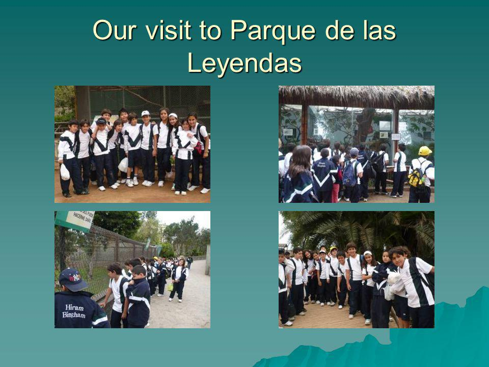 Our visit to Parque de las Leyendas