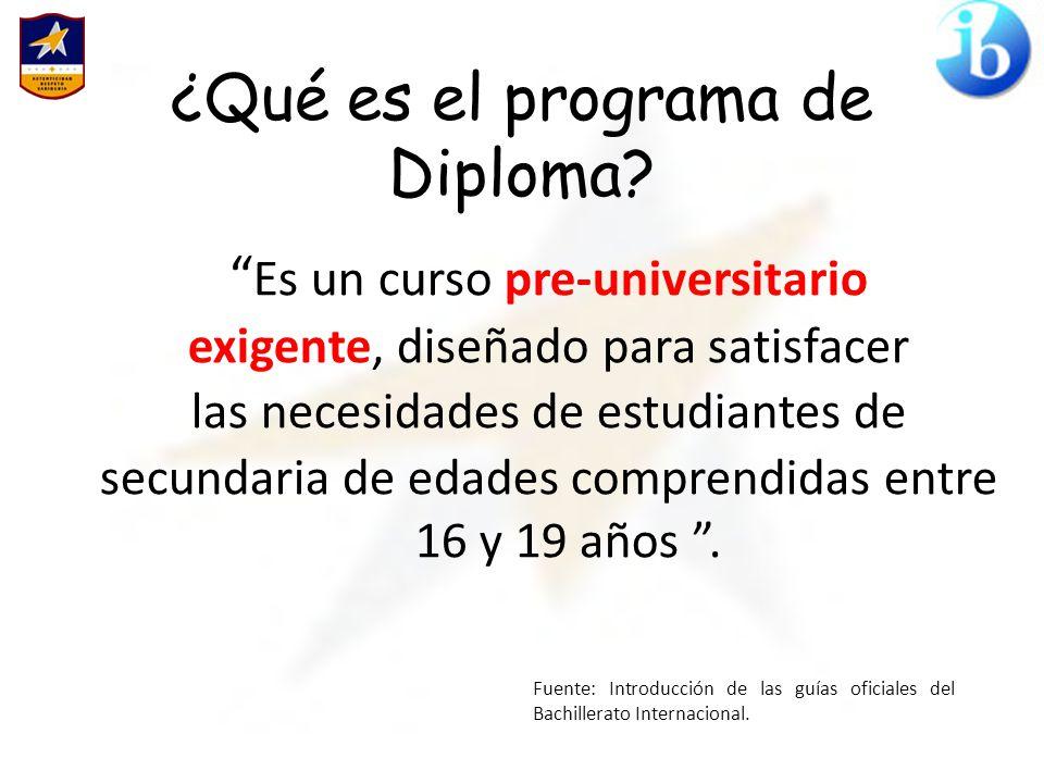 ¿Por qué Diploma?