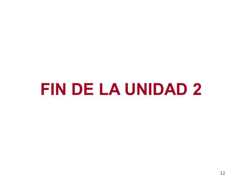 12 FIN DE LA UNIDAD 2