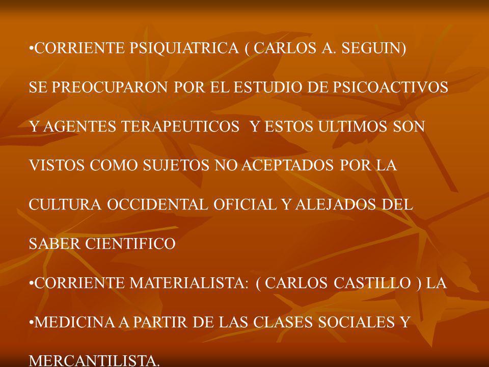 CORRIENTE PSIQUIATRICA ( CARLOS A.