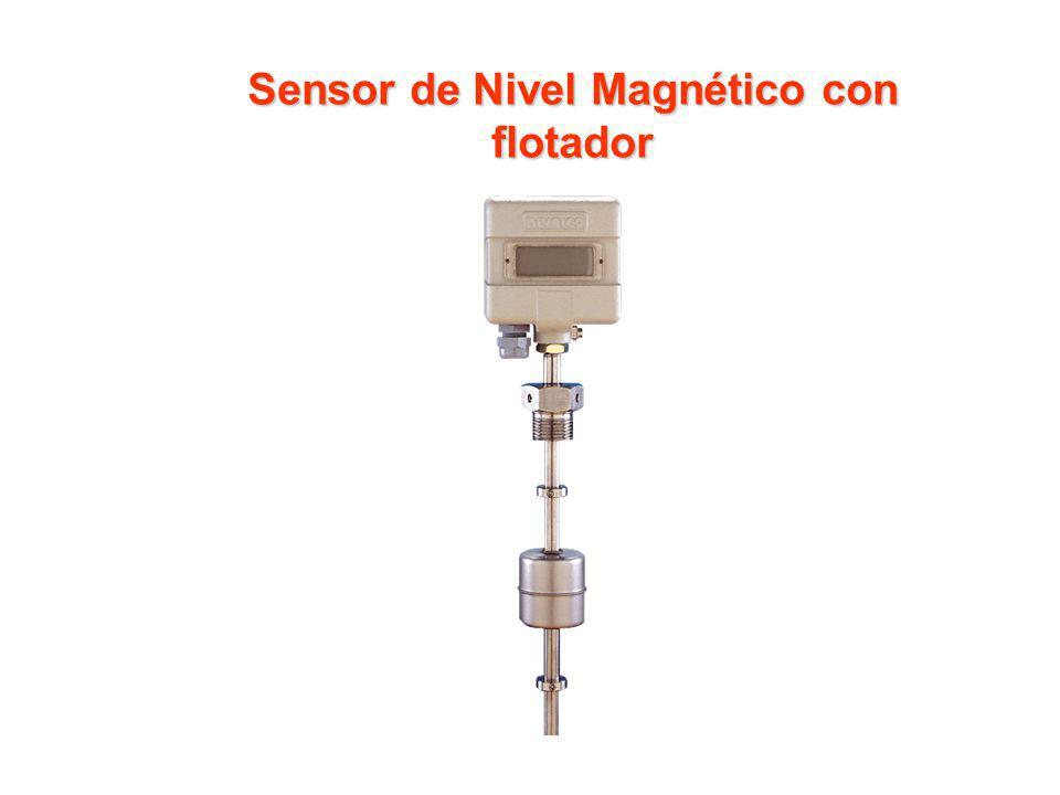 Sensor de Nivel Magnético con flotador