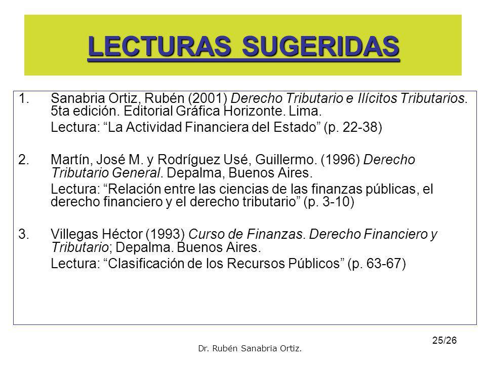 24/26 SENTENCIAS DEL TC Y PJ Sentencia del TC. Exp. N° 2689-2004-AA- Lima El tributo como recurso del Estado De acuerdo a nuestra Constitución, la pot