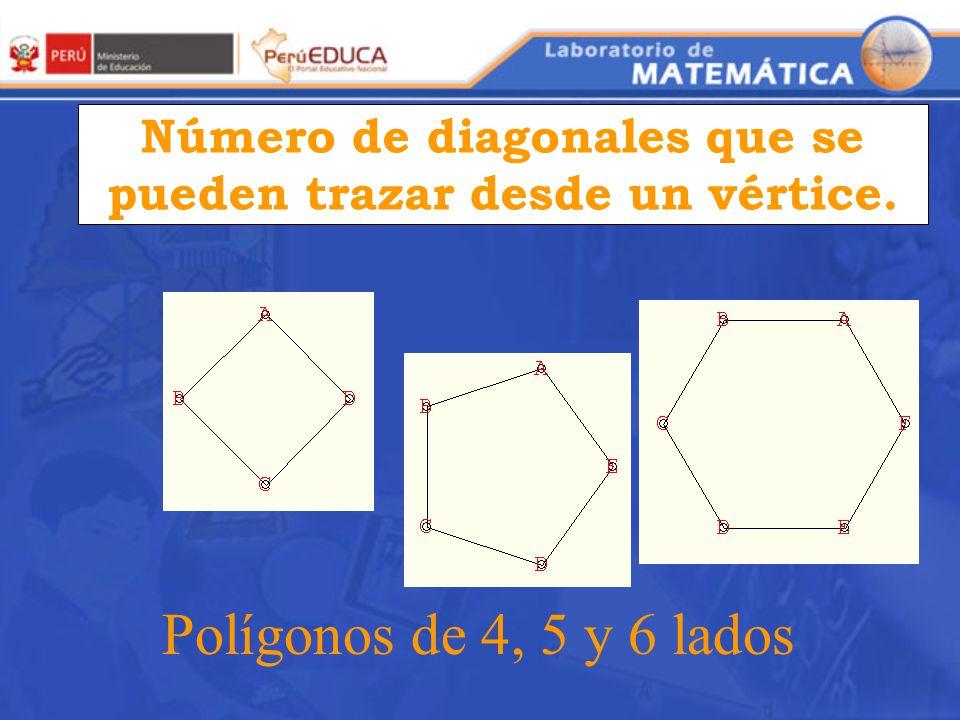 Para poder reconocer y calcular el número de diagonales de un polígono. Debemos ir trazando cada una de éstas.