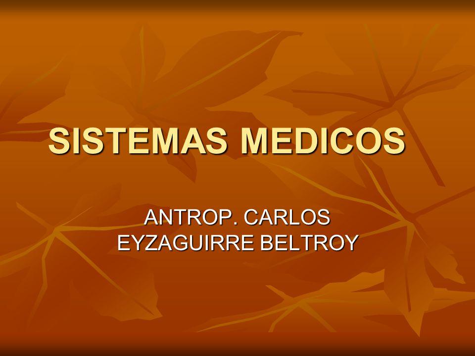 SISTEMAS MEDICOS ANTROP. CARLOS EYZAGUIRRE BELTROY