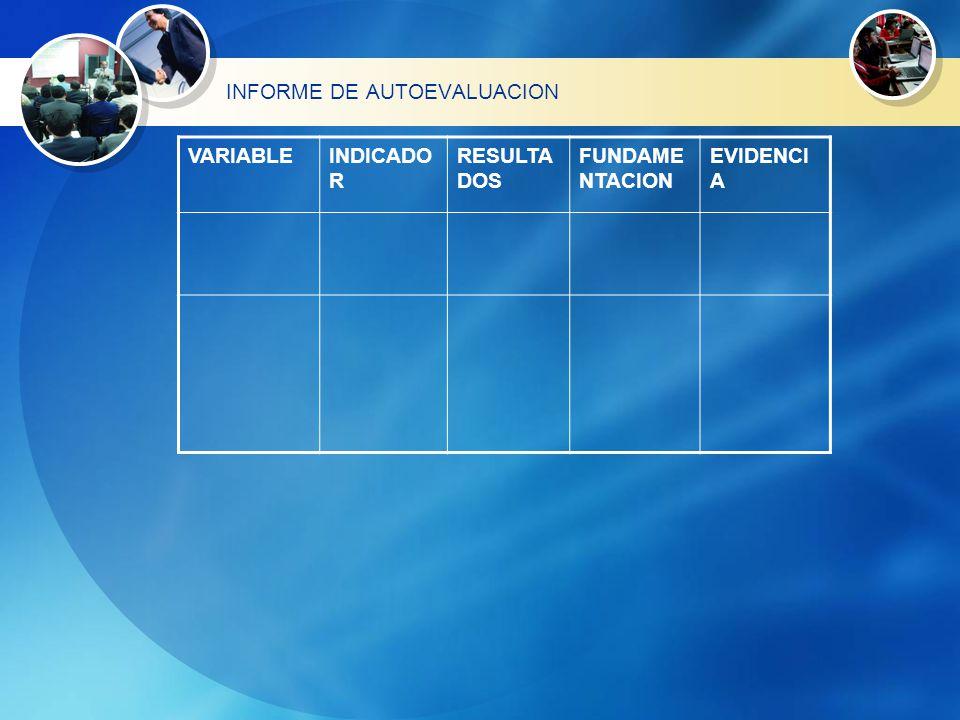 PROCESO DE AUTOEVALUACION EN ESCUELA DE ENFERMERIA USAT El proceso de evaluación se realizó en base a los estándares básicos diseñados por el equipo técnico de ASPEFEEN, que permitió la elaboración de los instrumentos que fueron respondidos por los sujetos curriculares mencionados.