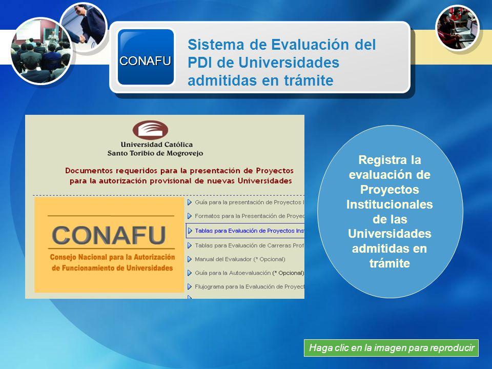 Agenda 1 2 Autoevaluación CONAFU Modelo de Información 3 ASPEFEEN