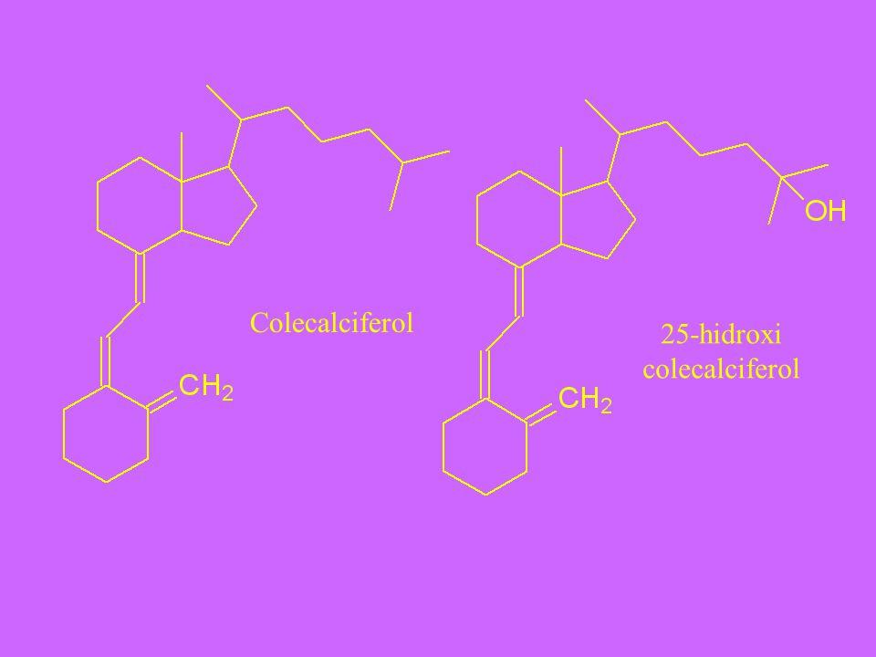 Colecalciferol 25-hidroxi colecalciferol