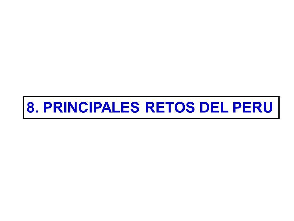 8. PRINCIPALES RETOS DEL PERU