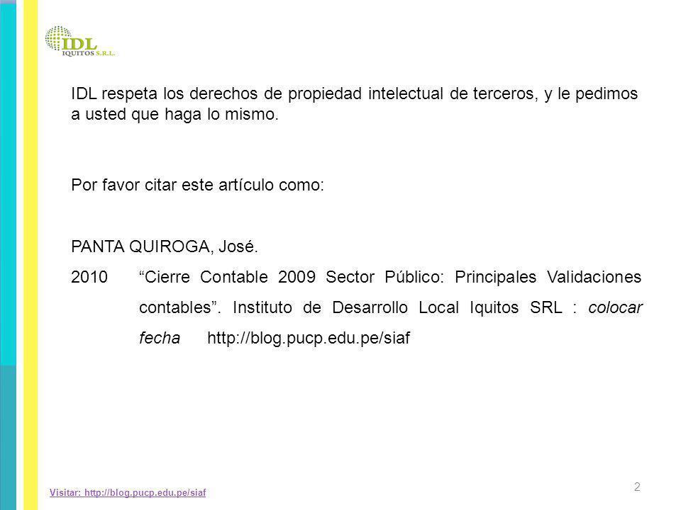 REGISTRO DEL TRASLADO DE SALDOS DE INGRESOS A RESULTADOS DE OPERACIÓN 13