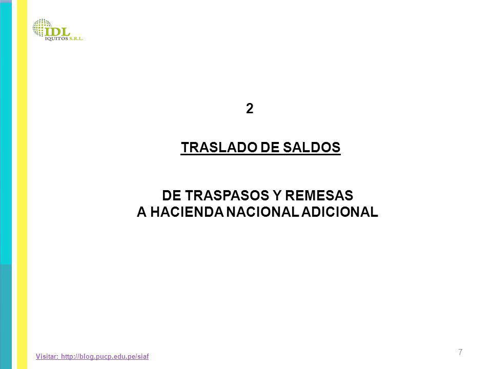 CRUCE DE INFORMACIÓN DEL RESULTADO DEL EJERCICIO ASIENTO CONTABLE DEL RESULTADO DEL EJERCICIO A RESULTADOS ACUMULADOS = RESULTADO DEL EJERCICIO SUPERAVIT/DEFICIT DEL EF-2 28