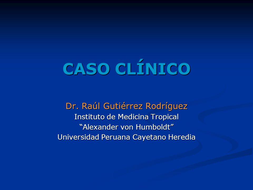 CASO CLÍNICO Dr.