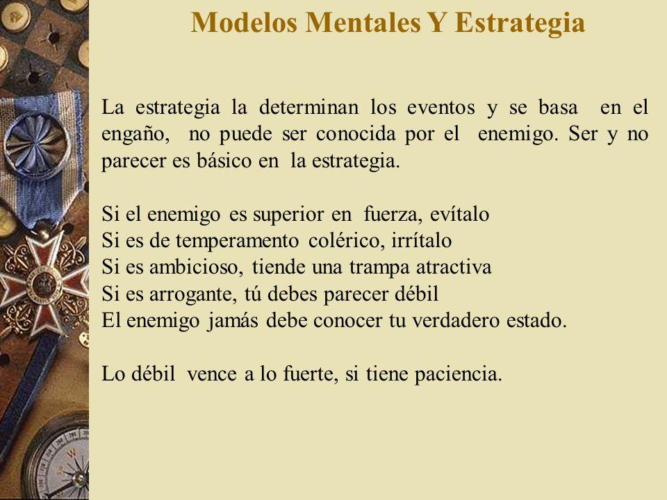 Modelos Mentales Y Estrategia Aquellos primeros en el avance y últimos en el retroceso, volando a combatir en todas partes, son llamados los ágiles. A