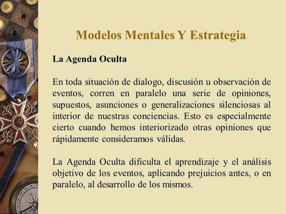 Modelos Mentales Y Estrategia Saltos de Generalización Abstractiva Un mecanismo automático de la mente humana es el de abstraer generalidades. Los est