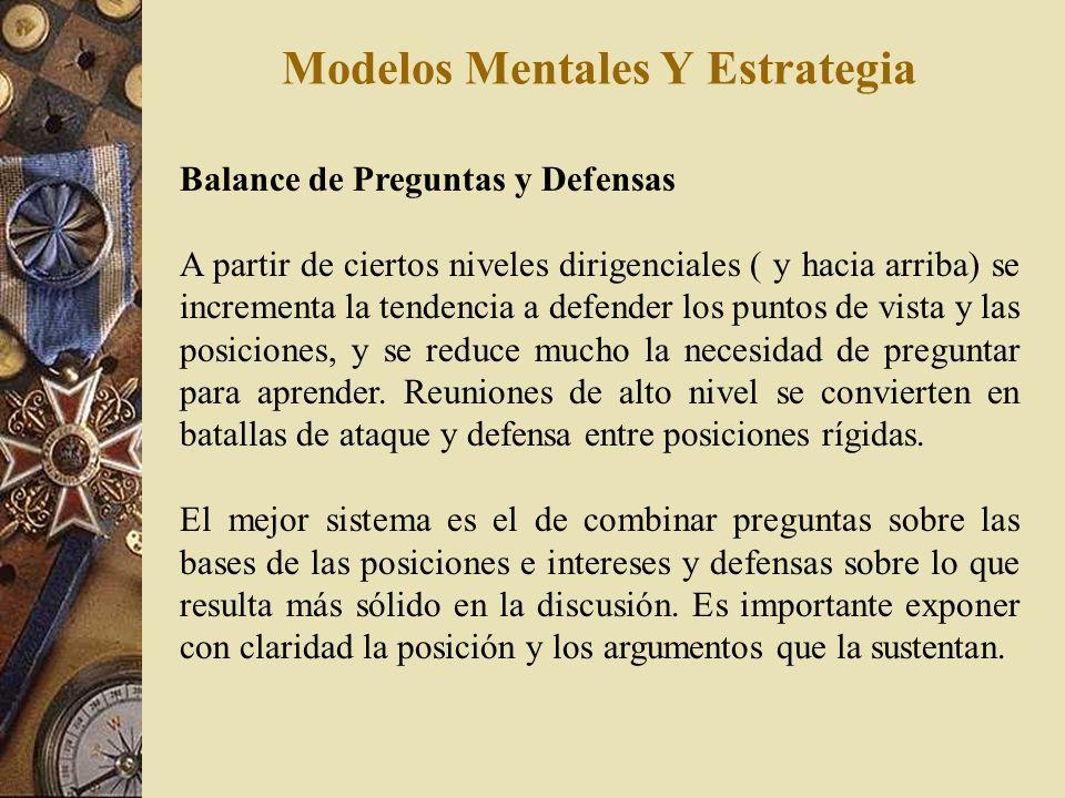 Modelos Mentales Y Estrategia La Agenda Oculta En toda situación de dialogo, discusión u observación de eventos, corren en paralelo una serie de opini