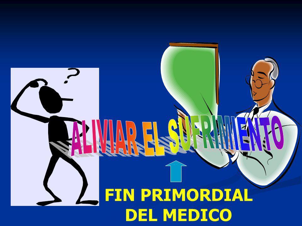 FIN PRIMORDIAL DEL MEDICO