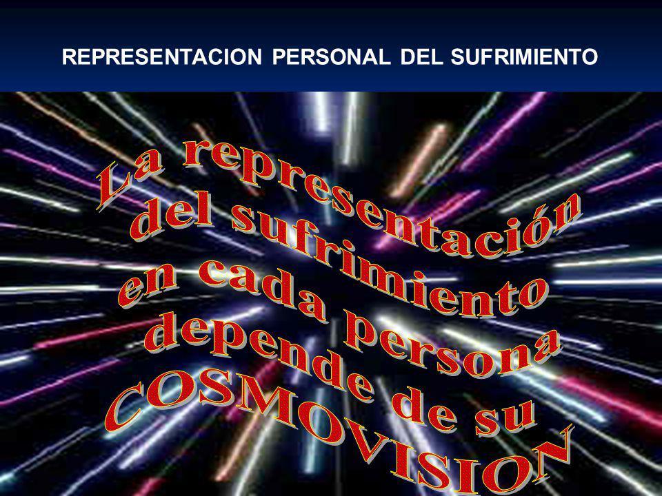 REPRESENTACION PERSONAL DEL SUFRIMIENTO