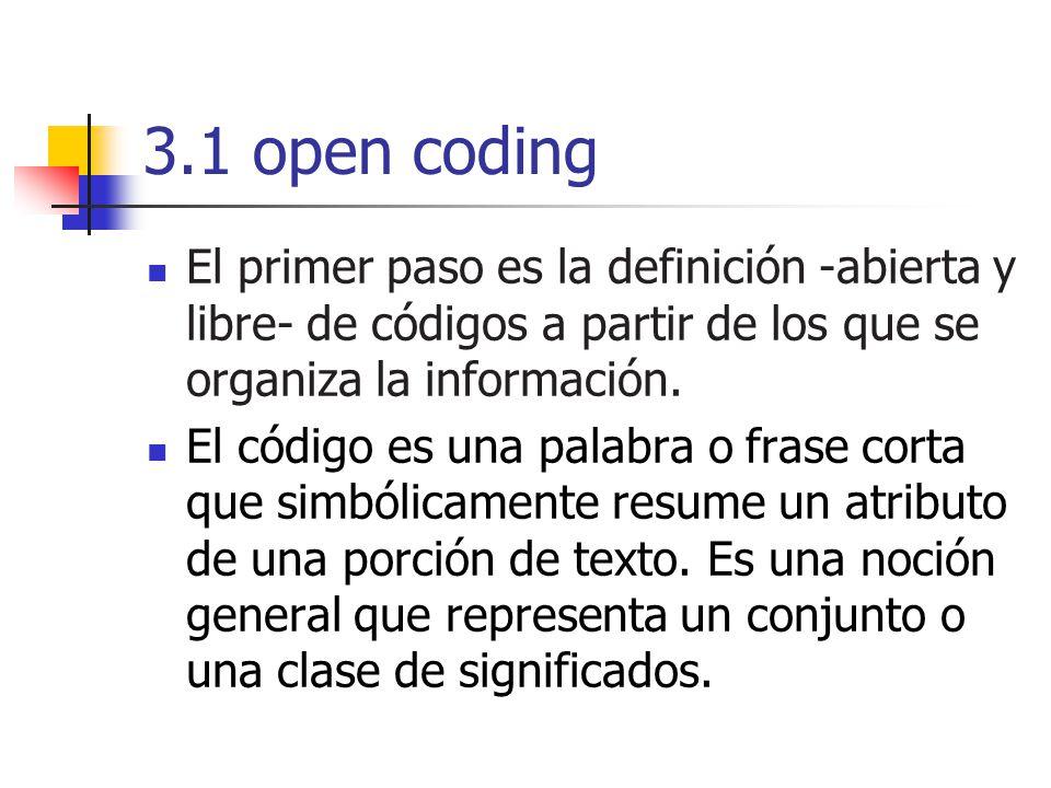 El investigador es quien le otorga significado a los resultados de su investigación, por ello el proceso de codificación dependerá de los lentes que utilice el investigador.