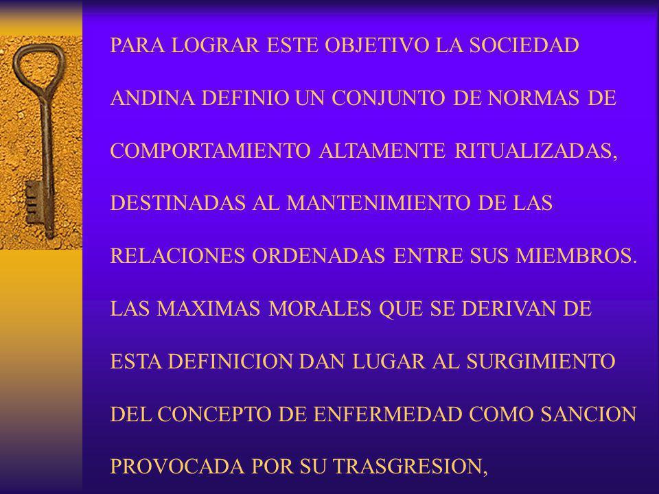 NORMAS Y SINDROMES CAUSADOS POR LA CONDUCTA DEL INDIVIDUO CON RELACION A LA LABORIOSIDAD: EL TRABAJO GENERA UNA NORMA DE CONTROL SOCIAL QUE CONSAGRA LA LABORIOSIDAD DEL INDIVIDUO.