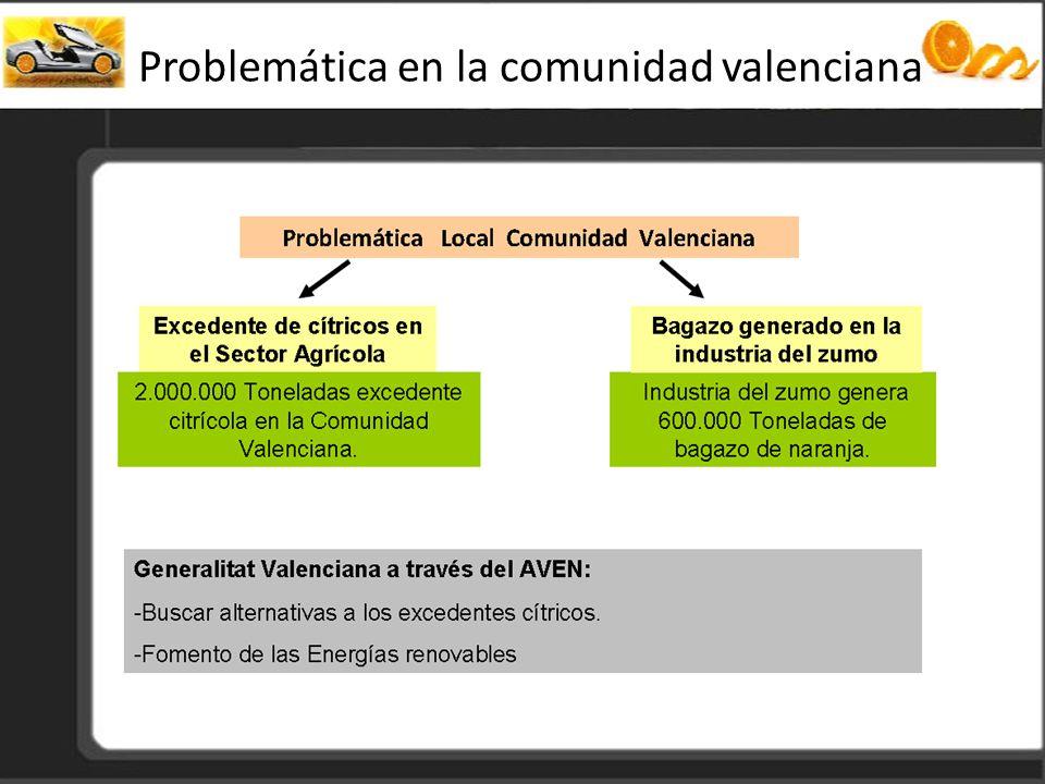 Problemática en la comunidad valenciana