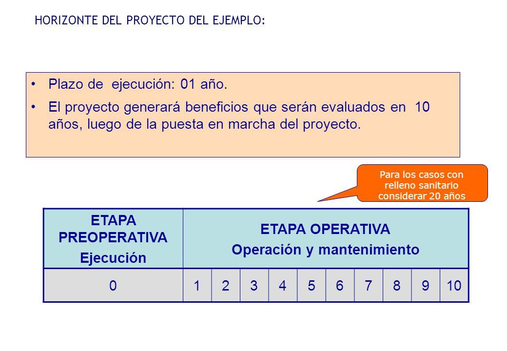 Módulo III Formulación del proyecto Horizonte de evaluación Análisis de demanda Análisis de oferta Balance oferta - demanda Costos del proyecto Programación de actividades