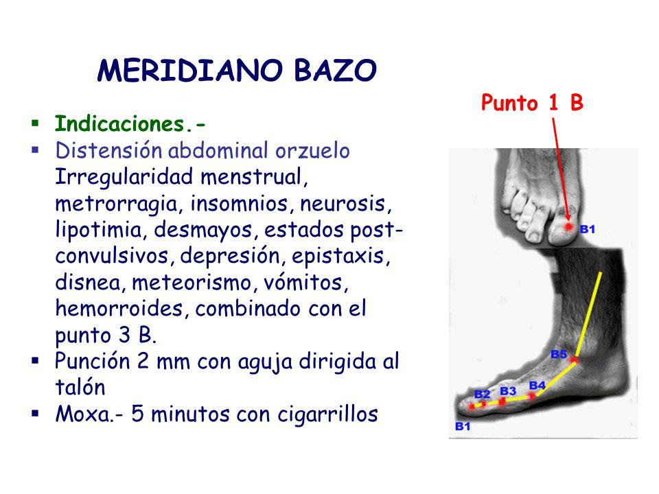 Indicaciones.- Distensión abdominal orzuelo Irregularidad menstrual, metrorragia, insomnios, neurosis, lipotimia, desmayos, estados post- convulsivos,