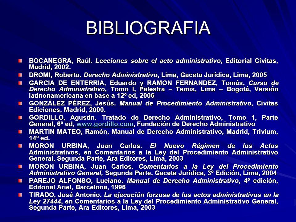 BIBLIOGRAFIA BOCANEGRA, Raúl.