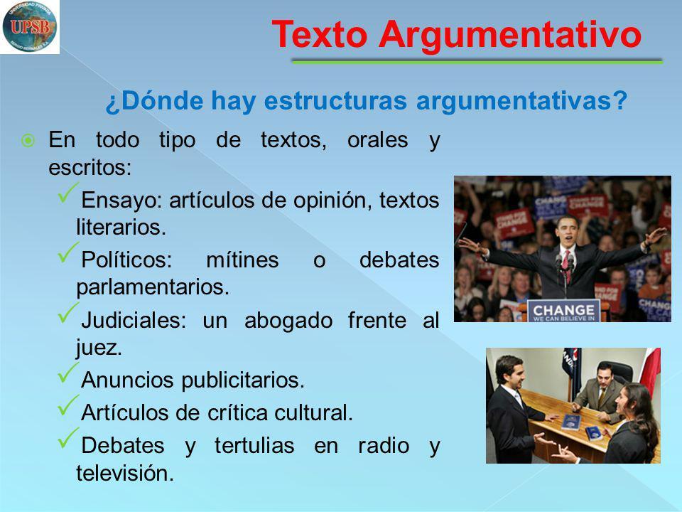 1.Introducción: se suele presentar la tesis o plantear el tema.