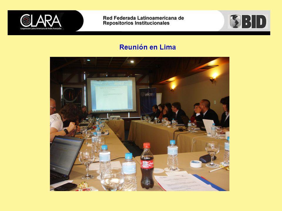 Reunión en Lima