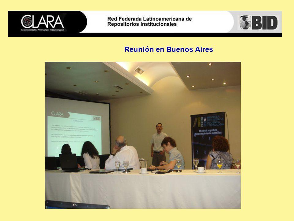 Reunión en Buenos Aires
